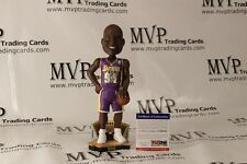 SHAQUILLE O'NEAL Autograph Purple L.A. Lakers LE Forever Bobble Head PSA/DNA COA