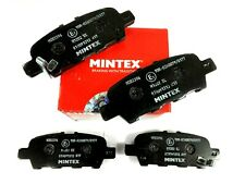 GENUINE MINTEX REAR BRAKE PADS FOR NISSAN SUZUKI MITSUBISHI MDB3396