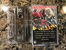 Iron Maiden The Number Of The Beast Cassette! Also See Moterhead & Dio