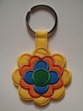 Prilblumen-Schlüsselanhänger Keyring - Pril Blume Flower 70er Jahre Design - NEU