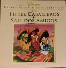 The Three Caballeros & Saludos Amigos Laserdisc Exclusive Archive CAV Edition GD