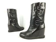 CASADEI Stiefel Stiefelette - 38 - schwarz - neu mit Karton - Luxus Boots