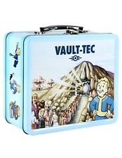 Fallout Vault-Tec Vault Boy Prepare For The Future Lunch Box Vintage Metal Tin!