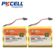 2x 800mAh Cordless Phone Battery for Uniden BT-905 BT-800 Panasonic HHR-P505A