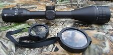 Nikko Stirling Panamax 4.5-14x50 large fov moitié mil-dot rifle scope npw451450ao