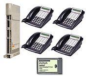 Lucent Avaya Partner ACS R6 Office Phone System w/ Voicemail &  (4) 18D (1) 34D