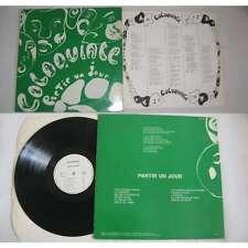 COLOQUINTE-Partir Un Jour Rare French Folk Prog Private Press 83 LP With Insert