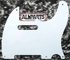 PICKGUARD TELECASTER US VINTAGE 1 ply 5 tr BLANC WHITE PG0560-025