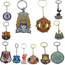 100 % Official Football Team  Club Metal  keychain Charm keyring