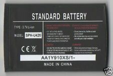 Lot 25 New Battery For Samsung U420,A580,D347,D407,A420