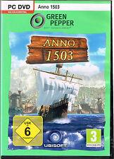 ANNO 1503 von Green Pepper PC-DVD FSK 6 neuwertig