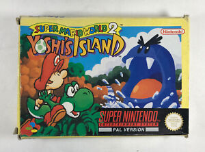 Super mario world 2 yoshi's island Super Nintendo SNES Free tracked post Pal