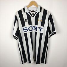 Vintage Juventus 1995 1996 Home football shirt soccer jersey kappa SONY