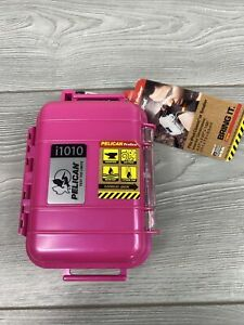 Solid Pelican ProGear i1010 Ipod Classic Or Smaller Case Waterproof Pink