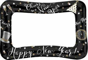 New Year Eve Selfie Photo Booth Inflatable Frame New Year Night Party Decor 2021