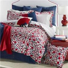 Tommy Hilfiger Wellesley Twin Duvet 3 Piece Set Red White and Blue MRSP $200