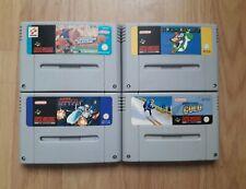 Super Nintendo Games Snes inc.. Mario World, R-Type, Winter Gold  4x