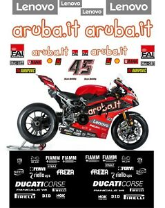Ducati Aruba.it  WSBK 2020 Scott Redding Decal  kit