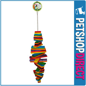 Green Parrot Bird Toy HURRICANE (FREE DELIVERY)