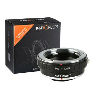 K&F Concept adapter for Minolta MD MC Lens Mount to Micro Four Thirds MFT M43