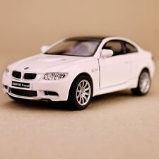 2009 BMW M3 Coupe 1:36 Scale Die-cast Model Car 12cm White Pull-Back