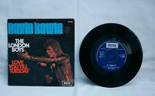 """DAVID BOWIE  The London boys  7"""" VINYL picture sleeve  FRANCE"""