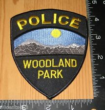 Woodland Park Insignia Colorado Police Department Cloth Patch Only