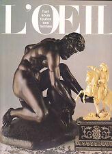 L'OEIL, Revue d'Art N°341 décembre 1984  Huysmans  Yves Brayer Corum