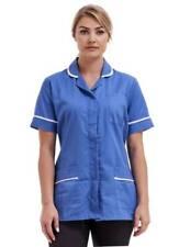 Blue NHS Nurses Uniform Nurse Tunic Hospital blue Healthcare top Carehome