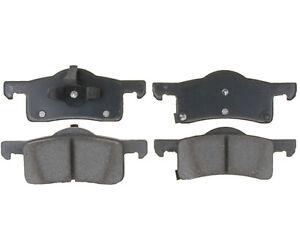 Premium Disc Brake Pad Set-Service Grade Ceramic Rear|Raybestos SGD935C