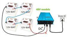 Inverter solar on grid 48V battery solar MPPT 500W 230Vac 50Hz inverter batterie