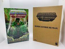 Horde Zombie He-Man POWER-CON EXCLUSIVE MOTU Classics MIB Sealed W/ Mailer