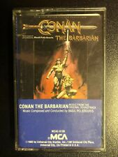 Conan the Barbarian cassette tape Original Soundtrack 1982