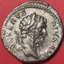 Septimius Severus Silver Denarius, RIC 230, 209 AD, 2.75g