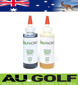 The GolfWorks - High Strength Epoxy - Club assembly Glue - 8 oz / 240 ml
