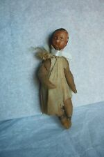 Antique Cotton Spun African American ? Christmas Ornament