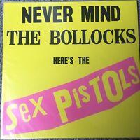 Sex Pistols - Never Mind The Bollocks Here's Sealed Vinyl LP - NEW & SEALED