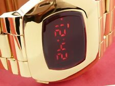 James Bond 70 S 1970 S vecchio stile vintage LED LCD DIGITALE RARO VINTAGE WATCH P2 G