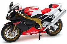 Welly Moto Aprilia RSV 1000r Factory Rouge et blanche Wel62808w