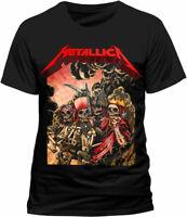 Metallica Four Horsemen T Shirt OFFICIAL Pushead Heavy Metal M L XL