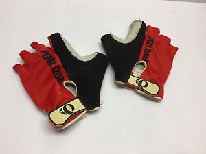 Pearl Izumi Cycling Gloves Red Black XS Vintage