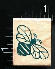 BUMBLEBEE INSECT ANIMAL Hero Arts Wood Mounted Rubber Stamp