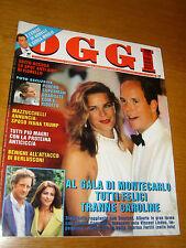 OGGI 1995/33=MONACO=REINHOLD MESSNER JUVAL=PIERANTONIO BETTELLI=ROBERTO BENIGNI=