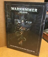 -- new WARHAMMER 40,000 RULEBOOK -- sealed 8th edition rules rule book core 40k