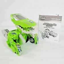 Switch and Go Dinos - Sliver the T-Rex. Transformer Dinosaur Car. VTech. CLEAN