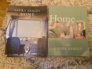 2 x Vintage Laura Ashley Home Decor British Interior Design Catalogues 1998/2000
