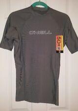 O'Neill Women'S Basic 50+ S/S Rash Guard Gray Grey Medium