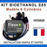 KIT Ethanol Flex Fuel - E85 - Bioethanol - 6 Cylindres - ELM327 - COM - E 85