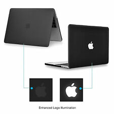 "Black Rubberized Matte Hard Case for Macbook Pro 13"" A1706 /1708 - Release 2016"