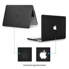 "Black Rubberized Matte Hard Case for Macbook Pro 13"" A1706 /1708 - Release 2016"